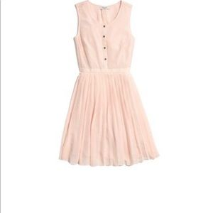 Madewell Pale Pink Silk Dress Size 6